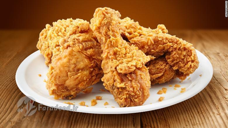 مصرف مرغ سرخ نموده خطر مرگ را افزایش می دهد