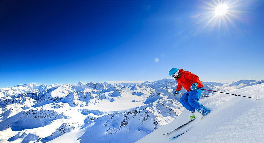بهشت اسکی در پیست های سوئیس