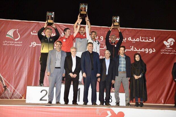 قهرمان لیگ دوومیدانی باشگاه های کشور تعیین شد