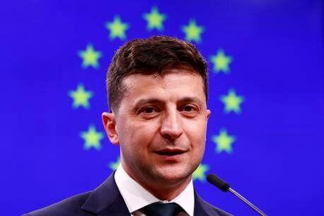 شوخی واتس آپی رئیس جمهور کمدین اوکراین با رهبران جهان