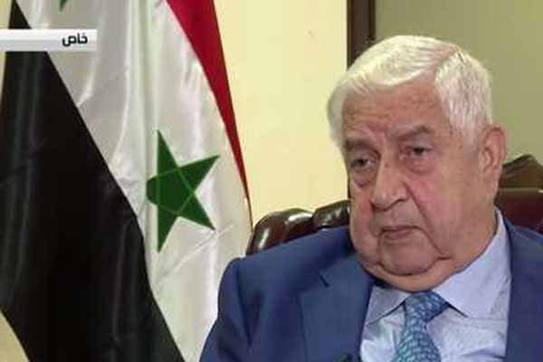ولید المعلم بر پایبندی دمشق به روند سیاسی در سوریه تأکید کرد