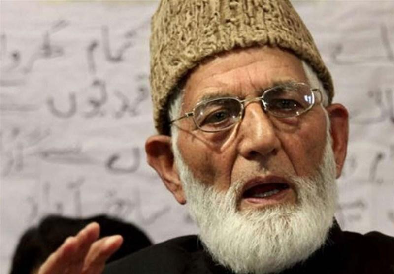 رهبر آزادی خواهان کشمیری: از حمایت های پاکستان قدردانی می کنیم