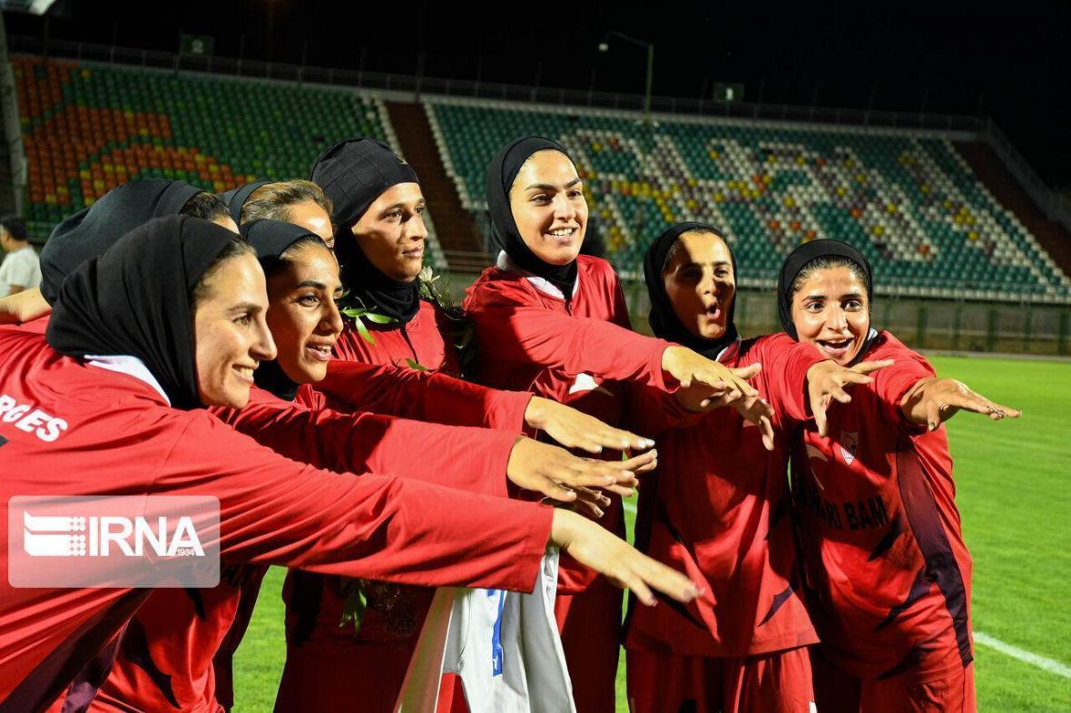 تداوم درخشش شهرداری بم در لیگ برتر فوتبال زنان