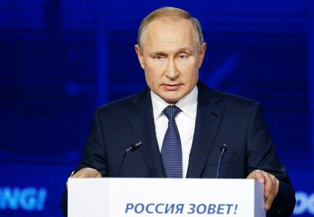توضیحات پوتین در خصوص حضور در طرطوس سوریه