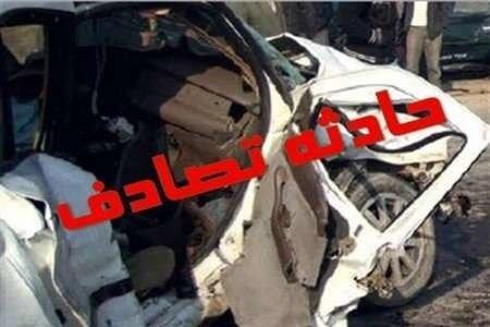 مصدوم شدن 6 نفر در حادثه رانندگی در اتوبان شهید باکری