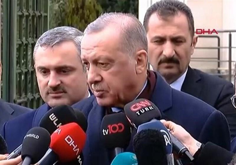 اردوغان: حفتر قابل اعتماد نیست